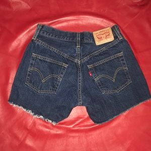 just in 501 SHORTS DRK WASH